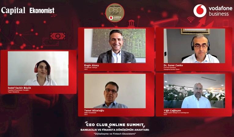 Finansta Dijital Dönüşümün Anahtarı CEO Club'ta konuşuldu