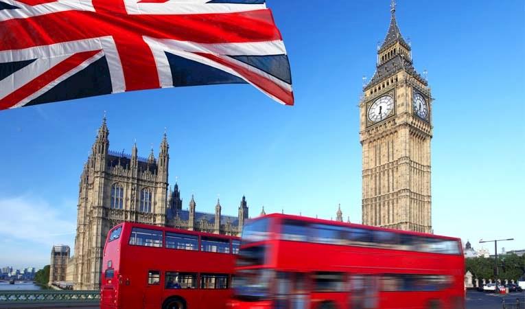 Birleşik Krallık 2020'de yüzde 9,9 daraldı