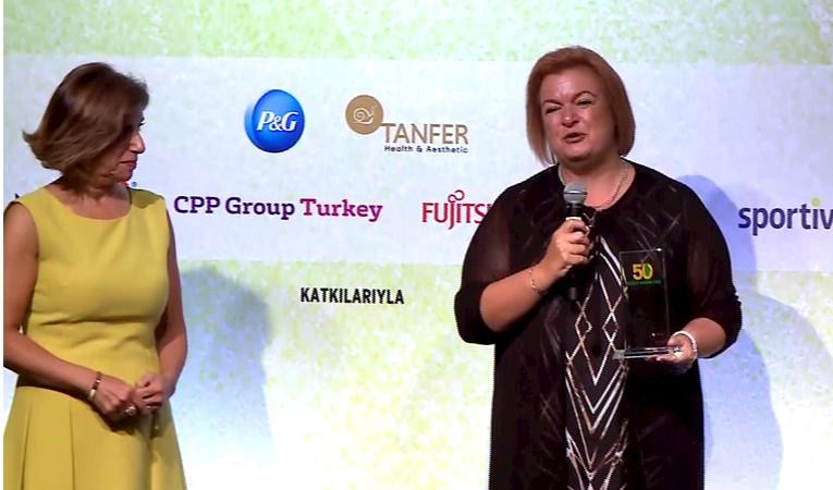 50 Güçlü Kadın CEO Zirvesi Ödül Töreni