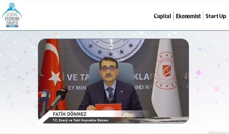 Fatih Dönmez Uludağ Ekonomi Zirvesi'nde konuştu