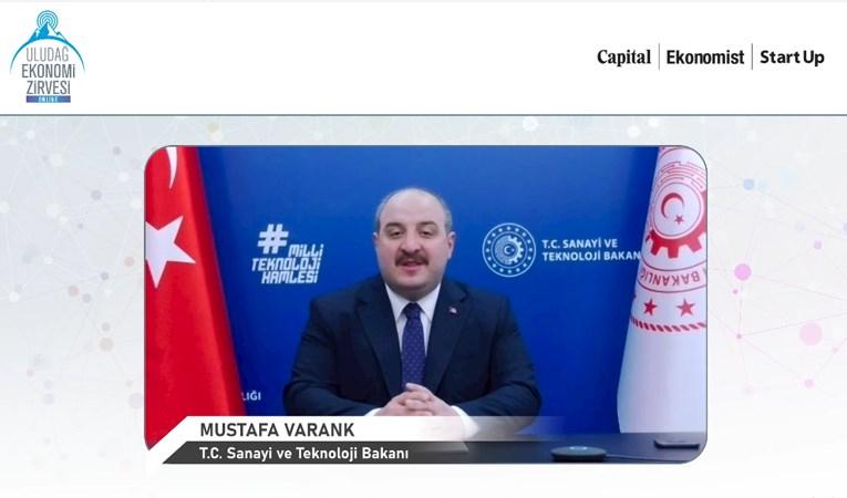 Mustafa Varank, Uludağ Ekonomi Zirvesi'nde Konuştu