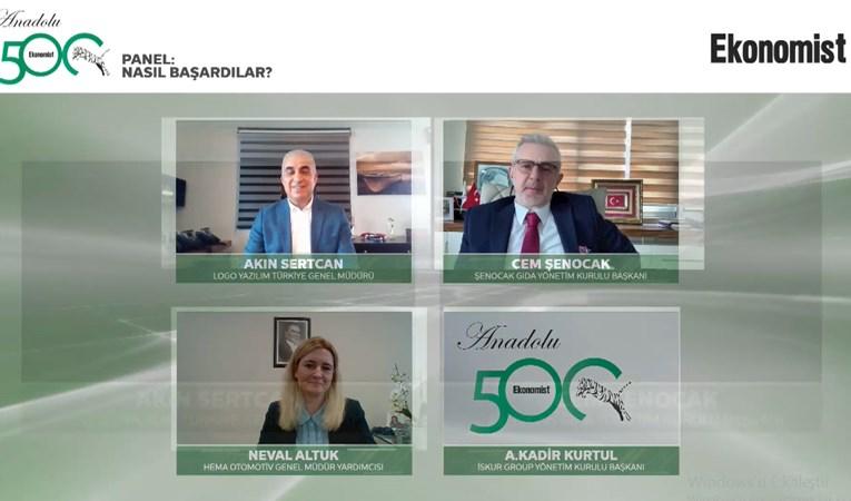 ANADOLU 500 ÖDÜLLERİ SAHİPLERİNİ BULDU