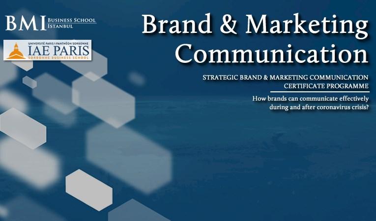 Stratejik Marka & Pazarlama İletişimi Sertifika Programı'nda yeni dönem başlıyor