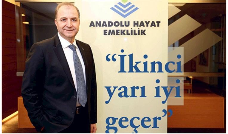 Anadolu Hayat Emeklilik Genel Müdürü Yılmaz Ertürk: İkinci yarı iyi geçer