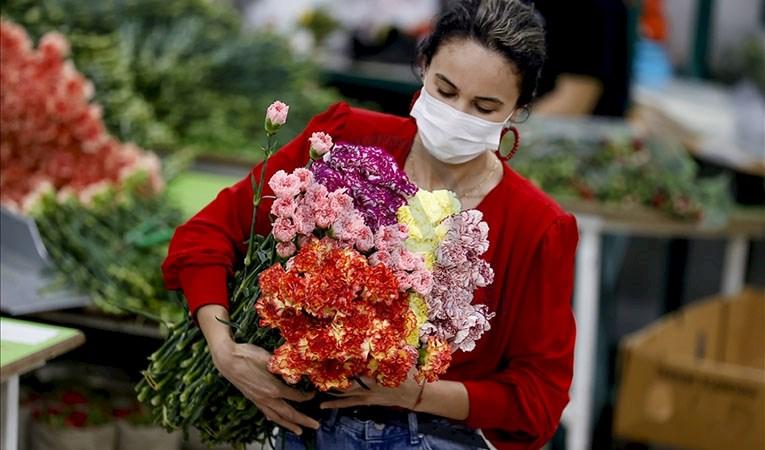 Çiçek ihracatında 'Anneler Günü' bereketi