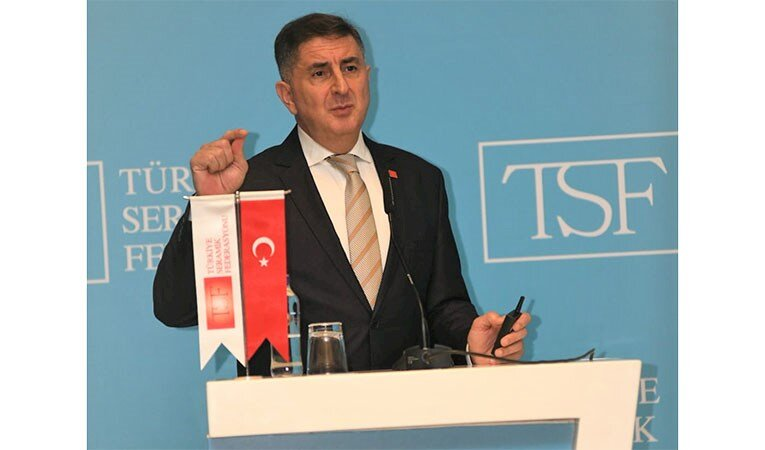 Türkiye Seramik Federasyonu 'Erdem Çenesiz'le devam' dedi