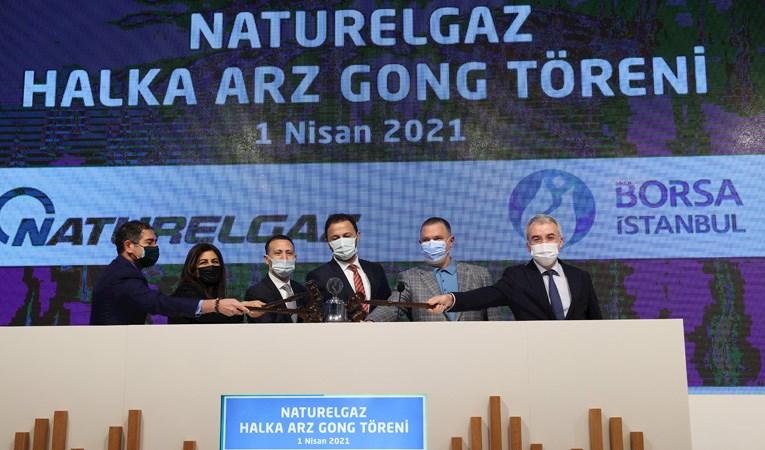 Yılın 3. halka arzı: Borsada gong Naturelgaz için çaldı