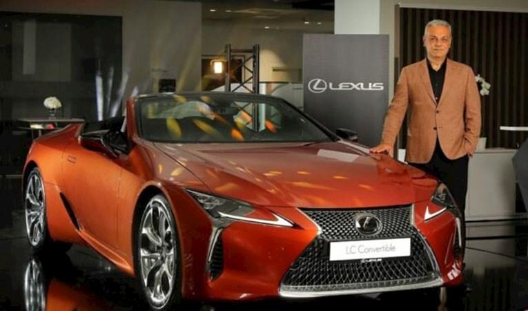 Lexus LC 500 Convertible satışa sunuldu… CEO Bozkurt, 'ÖTV'de düzenleme' bekliyor mu?