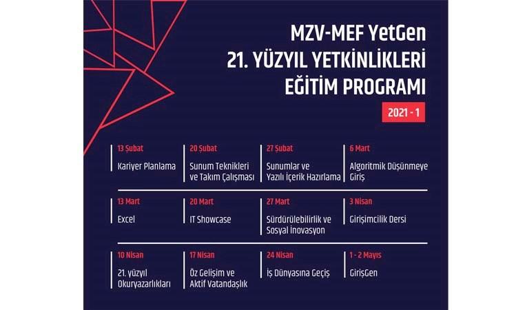 MZV-MEF YetGen 6. yıl eğitimlerine başlıyor.