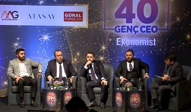 40 YAŞ ALTI 40 GÜÇLÜ CEO 'GENÇ CEO'LARIN AJANDASI' PANELİ
