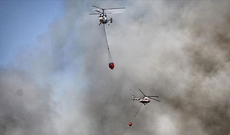 Son 8 günde çıkan 174 yangının 14'ü devam ediyor