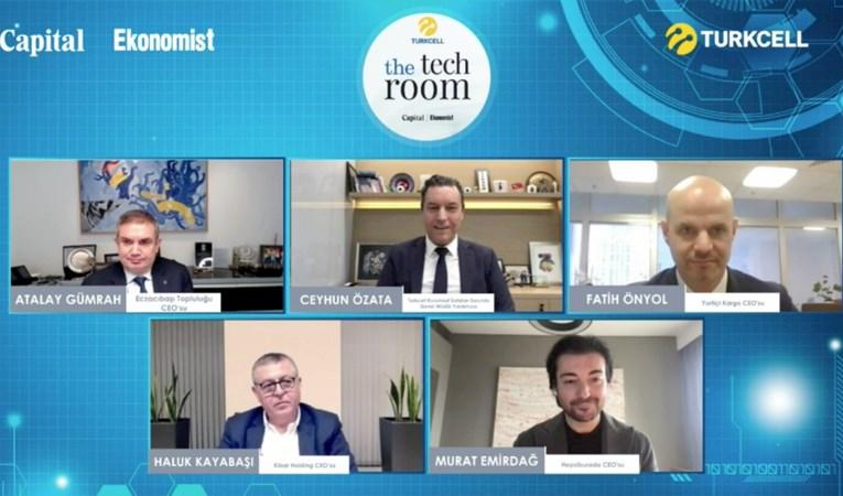 The Tech Room'da bir araya gelen liderler 'hız'ı konuştu
