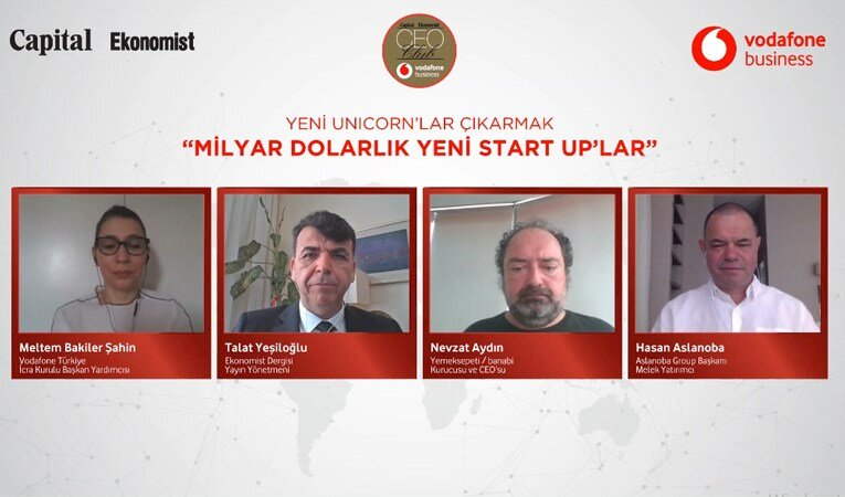 CEO CLUB'DA MİLYAR DOLARLIK YENİ START UP'LAR