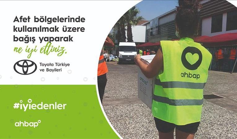Toyota Türkiye'den Ahbap Derneğine anlamlı bağış