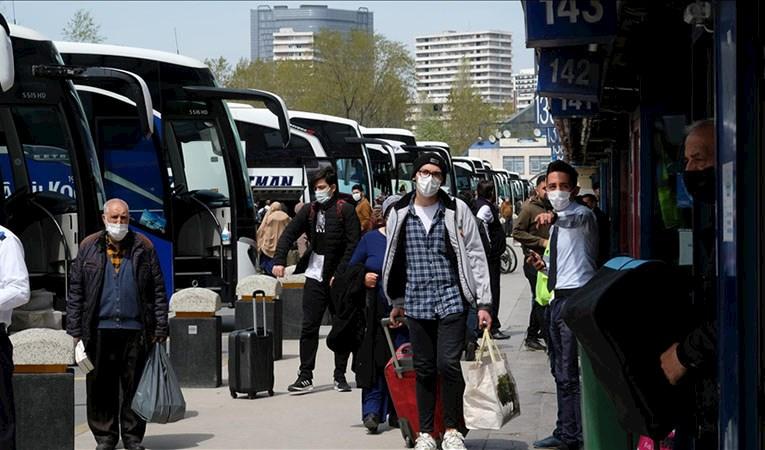 İstanbul'dan 'tam kapanma' göçü