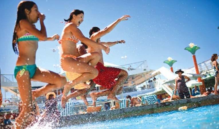 Turist sayısında büyük artış