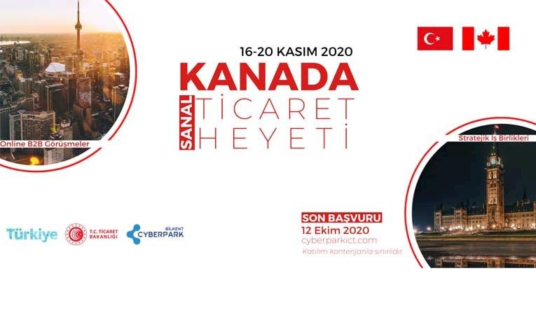 Kanada Sanal Ticaret Heyeti 16-20 Kasım'da gerçekleştirilecek