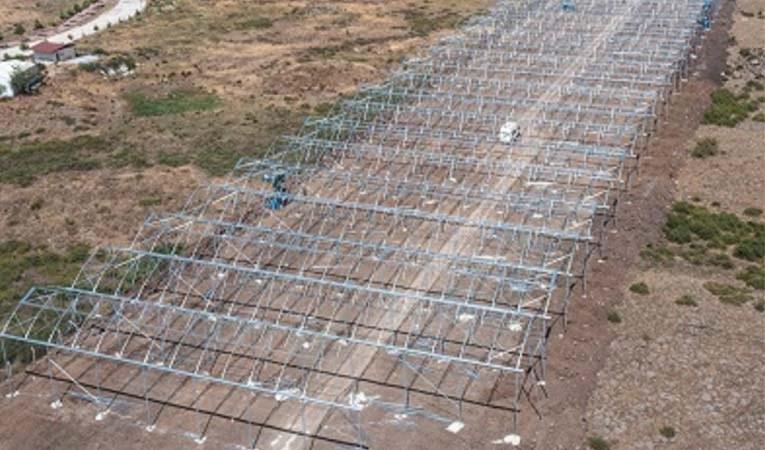 Türkiye'de bir ilk: OSB içinde tarım yatırımı