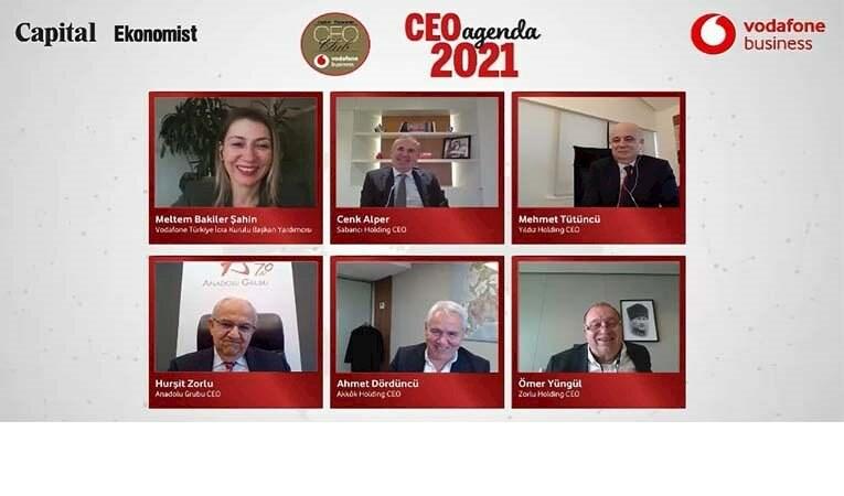 İş dünyasının liderleri CEO Club'ta 2021 ajandasını konuştu