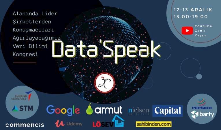 Veri analistleri Data'Speak'te buluşuyor