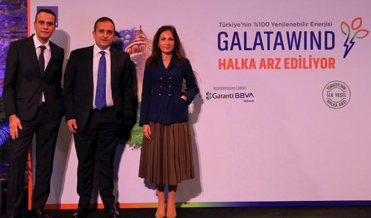 Galata Wind Enerji 'Türkiye'nin ilk yeşil halka arzı'nı gerçekleştiriyor
