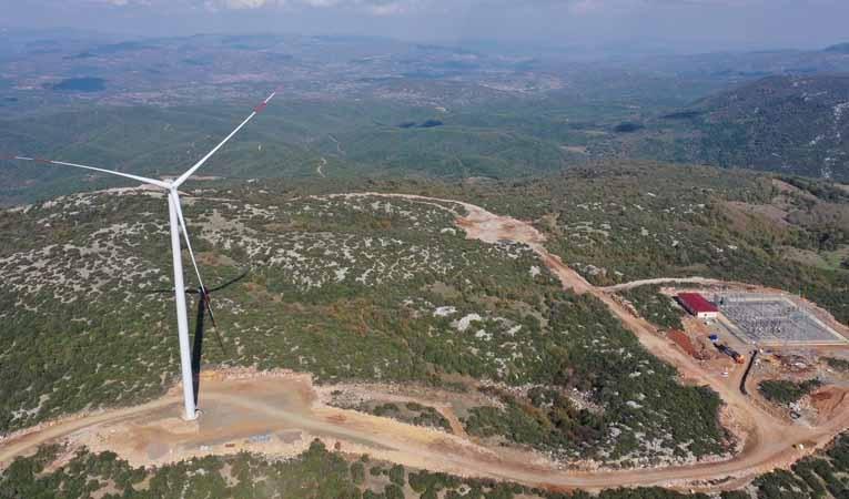 FİBA Grubu'ndan 220 milyon dolarlık 4 yeni rüzgar santrali