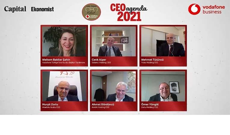 Dev holdinglerin 2021 beklentileri CEO Club'da masaya yatırıldı