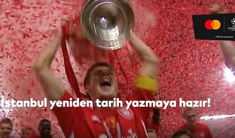 UEFA Şampiyonlar Ligi finali için tanıtım videosu
