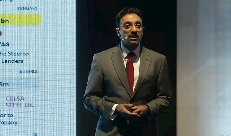 """Raj Apte """"Dünyada Yeni Finansman Alternatifleri"""" Sunumu"""