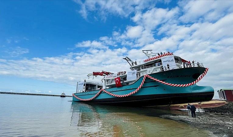Trabzon'da 7 milyon dolara balıkçı gemisi imal edildi