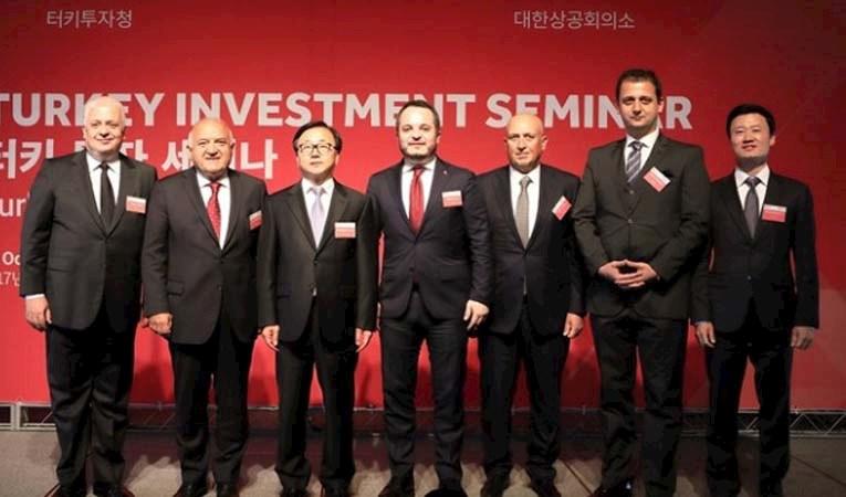 Güney Kore ve Çin'e yatırım daveti