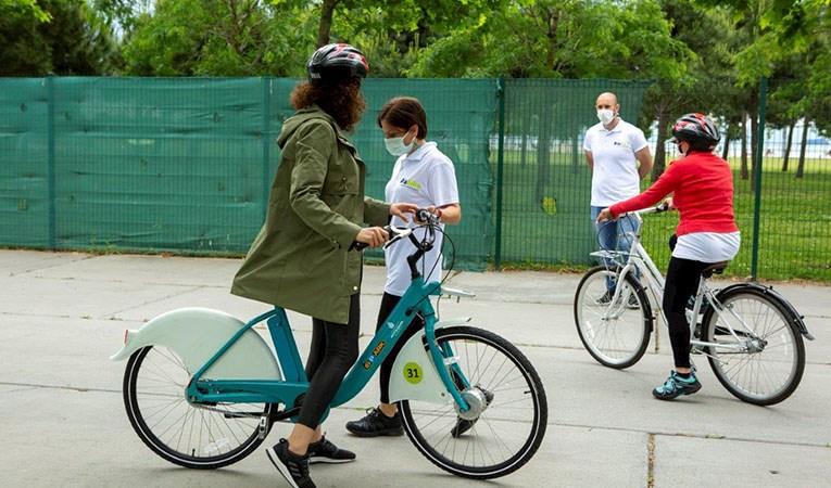 İSPARK, İsbike Bisiklet Okulu açtı