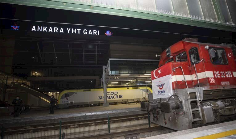 İhracat treni Çin'e ulaştı